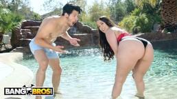 BANGBROS - Latina Alycia Starr Gets Her Marvelous Big Ass Worshipped