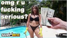 BANGBROS - My Dirty Maid Valentina Jewels Has A Big Latin Ass!