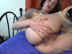 My Eager Cum Slurping Cuckold - Mrs Mischief milf hotwife cuck fantasy