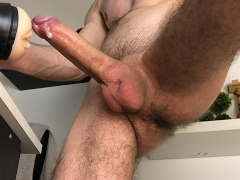 Solo Male Fucking Fleshlight - 4K
