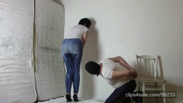 Jeans Mistress and jeans leggings slave (PROMO)