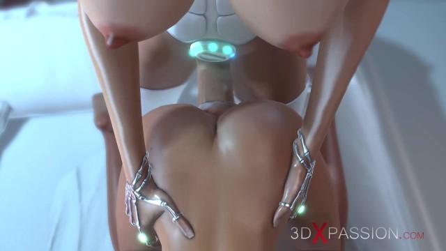 Sci fi fuck Sci-fi dreams. dickgirl in the orbital station. 3d animation