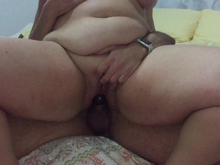Reverse Cowgirl Fuck Amateur with Big Titfuck