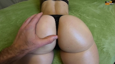 PAWG Assjob and Doggystyle - CUM IN PANTIES