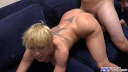 MILF Trip - Hot blonde MILF absolutely loves the dick - Part 2