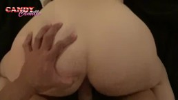 anal creampie to a tender girl with a big butt (pov)