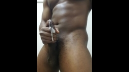 WATCH MY BBC BUST A HOT LOAD FOR YOU   MASTURBATION