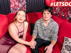 LETSDOEIT - German Guy Pops His Cherry With a Hot Milf