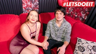 LETSDOEIT – German Guy Pops His Cherry With a Hot Milf