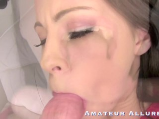 HOT TEENS SLOPPY BLOWJOB FUCKING THREESOMES COMPILATION – AMATEUR ALLURE
