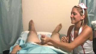 Nurse Taylor Raz Takes Care Of Your Erection