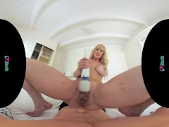 VRHUSH Brandi Love masturbating with toys in virtual reality