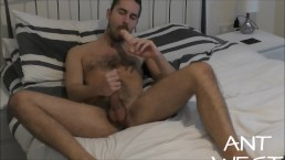 Ant West Sucking Dildo Ready to be Fucked