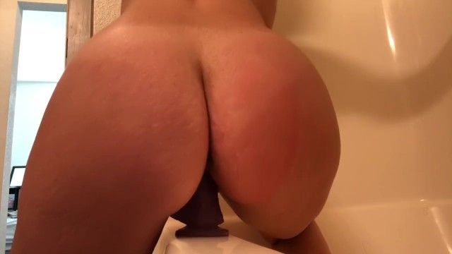Sex in kandy Amateur pawg rides dildo