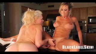 Brandi and Bentley get down and dirty in the kitchen