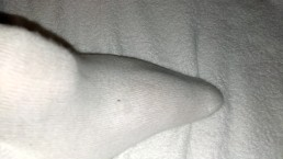 OMG! My bf is playing with his feet! Foot fetish cumshot or self footjob?