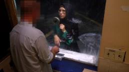 ARABS EXPOSED - Desperate Arab Woman Fucks For Money At Shady Motel
