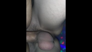 Fucking my bf with my thick twink cock