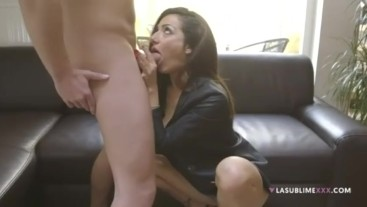 PRISCILLA SALERNO LOVES GIVE BLOWJOBS - DEEPTHROAT LESSON