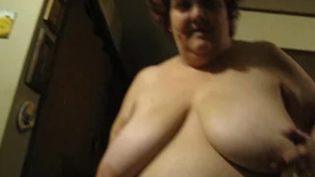 Mature heavy hangers - Ssbbw pammy sparkles from ny, ny walking and playing with her heavy hangers