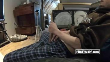 ULTIMATE CUM CHALLENGE! Cum THREE TIMES on CHATURBATE [Flint-Wolf.com]