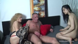Sex therapist helps out and joins in with a couple