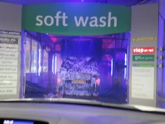 Who Finishes First - Car Wash or Blow Job 4K