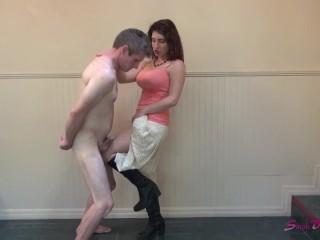 Hd jack off cock inspection kink big boobs mom mother high heels boots big tits f