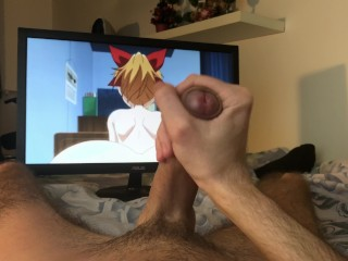 Guy Masturbating Gets Turned On By Hentai – 4K
