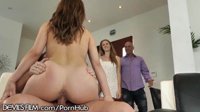 Swinger sex site Devilsfilm horny swinger wife caught fucking the neighbor