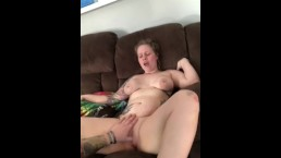 The Stunning Mrs Gordon cums for daddy with amazing POV