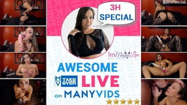 AWESOME MANYVIDS TAKEOVER
