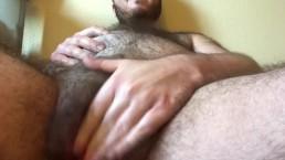 Huge Belly Pregnant FTM Rubs Wet Pussy - REAL MPREG