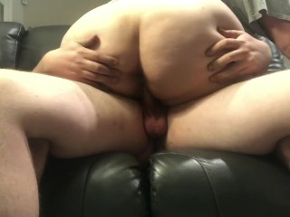 Legendarylea vag slip riding his hard cock while hubby is out of town, cheating wife thick thighs wide hips