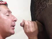 LETSDOEIT - RedHead Tranny Gets Her Asshole Stretched by Mature Guy