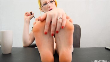Joi Therapist Foot Fetish Session For Billy - Foot Worship Femdom POV
