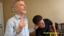 Ear Pulling Fetish - Custom Video - Jeff Drizzle - Richard Lennox -Manpuppy