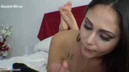 Ariana Marie Blowjob Feet View
