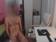 Amateur Guy Jerk And Show His Big Dick Very Closeup