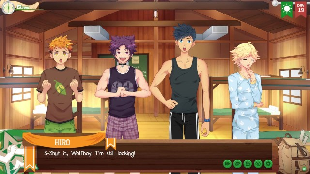 Gay day calling in sick Keitaro is sick again - camp buddy yoichi route part 12
