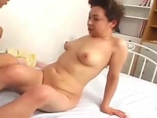 Grandmas pussy filled after cock sucking and pussy eating