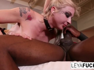 Hollywood Porno Film Cosplaying Leya Takes Mandingos Bbc Up Her Ass, Big Ass Big Tits