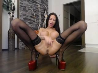 high heels, stockings, dance
