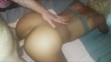 POV handjob, fucking, and pounding pussy from behind