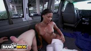 BANGBROS - Mr. Pete And I Pick Up A Hot PIece Of Ebony Ass, Sommer Isabella