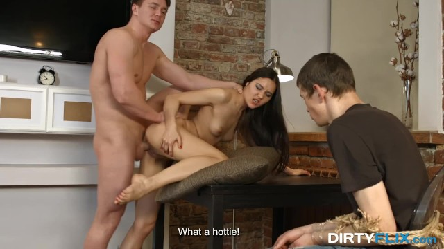 Dirty Flix – Aziza – Oops you are a cuckold now