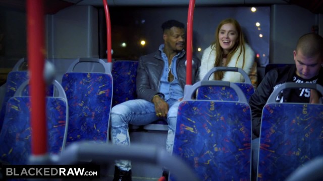 Im in luv win a stripper Blackedraw two beauties fuck giant bbc on bus