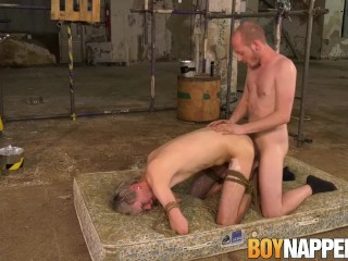 Bound Sky Heet makes maledom nut after doggystyle