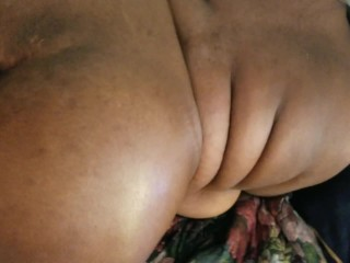 Ebony BBW Gets Pounded For Facial