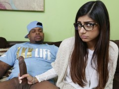 MIA KHALIFA - She's Never Tried Big Black Dick Before, So She Asks Rico